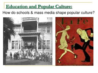 Education and Popular Culture: