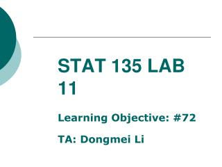 STAT 135 LAB 11