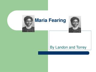 Maria Fearing