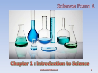Science Form 1 (Chapter 1)