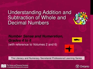 Understanding Addition and Subtraction of Whole and Decimal Numbers