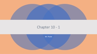 Chapter 10 - 1