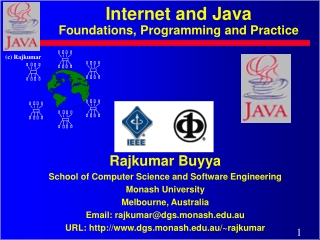 Internet and Java