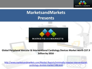 Interventional Cardiology Devices Market - 2016