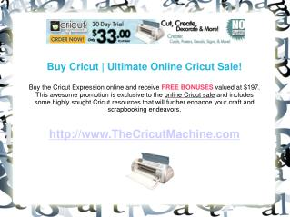 Buy Cricut and Enhance Your Craftwork Capabilities