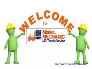 Forklift Rental Mississauga