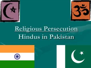 Religious Persecution Hindus in Pakistan