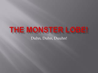 The Monster Lobe!