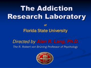 The Addiction Research Laboratory