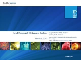 Lead Compound Obviousness Analysis