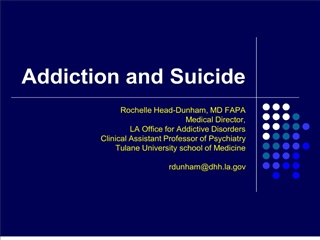 addiction and suicide