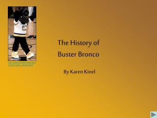 The History of Buster Bronco