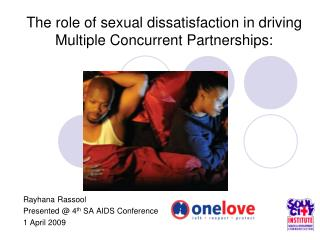 The role of sexual dissatisfaction in driving Multiple Concurrent Partnerships: