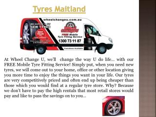 Maitland Tyres