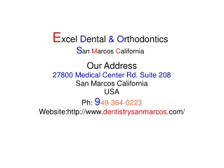 Dentistry San Marcos