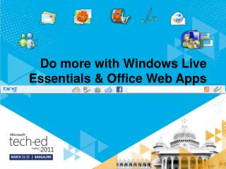 Do more with Windows Live Essentials & Office Web Apps