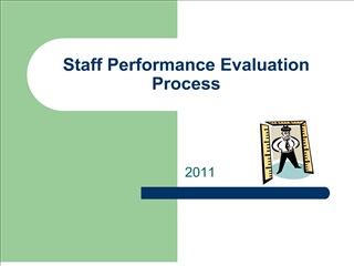 staff performance evaluation process