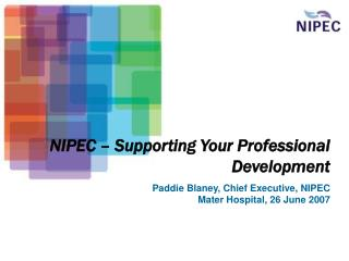 NIPEC – Supporting Your Professional Development
