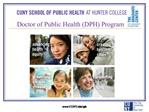 Doctor of Public Health DPH Program