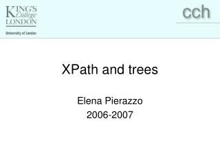 XPath and trees