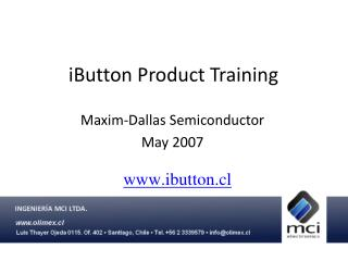iButton Product Training