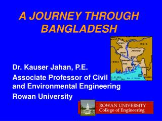 A JOURNEY THROUGH BANGLADESH