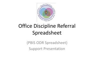 Office Discipline Referral  Spreadsheet