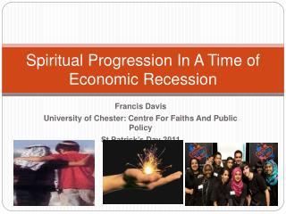 Spiritual Progression In A Time of Economic Recession