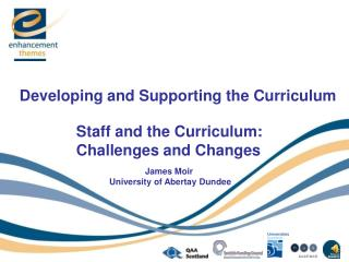 Developing and Supporting the Curriculum