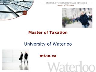 Master of Taxation