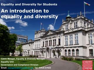 Equality and Diversity for Students
