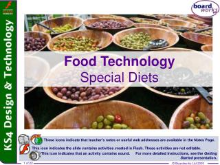 Food Technology Special Diets