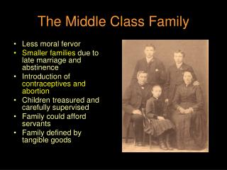 The Middle Class Family