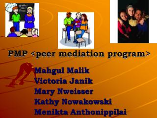PMP peer mediation program