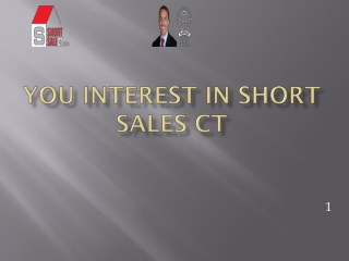 short sales in Connecticut