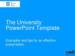 The University PowerPoint Template