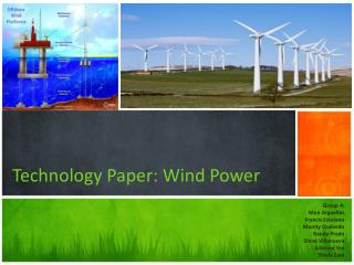 Technology Paper: Wind Power