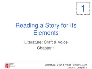 Reading a Story for Its Elements
