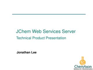 JChem Web Services Server