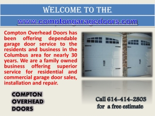 Garage Doors Columbus - Roll Up Doors