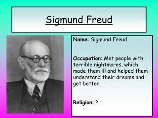 the flaws on sigmund freuds theories on religion