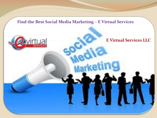 Find the Best Social Media Marketing