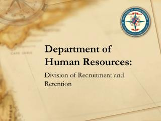 Department of Human Resources:
