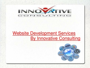 Website Development Services By Innovative Consulting