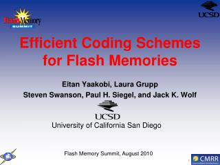 Efficient Coding Schemes for Flash Memories