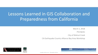Geospatial Technology for Homeland Security