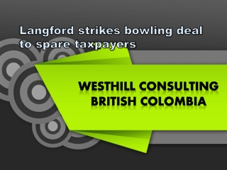 Westhills Consulting British Colombia  Langford