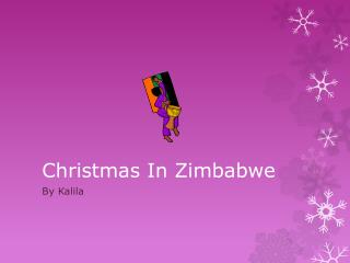 Christmas In Zimbabwe