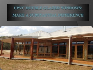 UPVC Double Glazed Window Installations