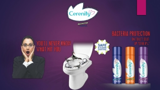 Cerenity Toilet Seat Sanitizer For Woman Health Care